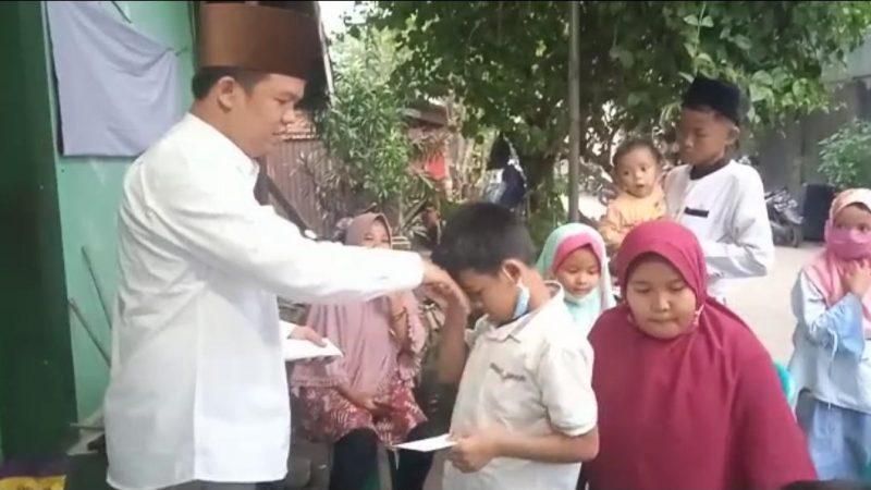 Kandidat Ketum PB PMII Santuni Anak Yatim Kota Bekasi