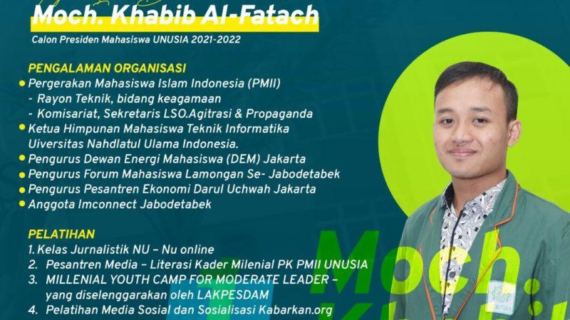 Paket Komplit Calon Presma UNUSIA Jakarta